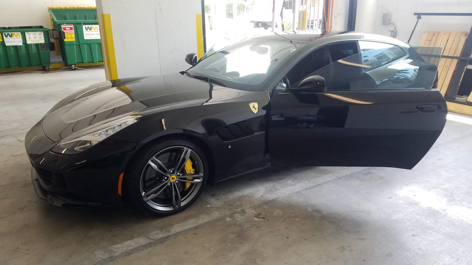 Complete window tinting 35% Color Stable 3M on Ferrari including windshield 80%