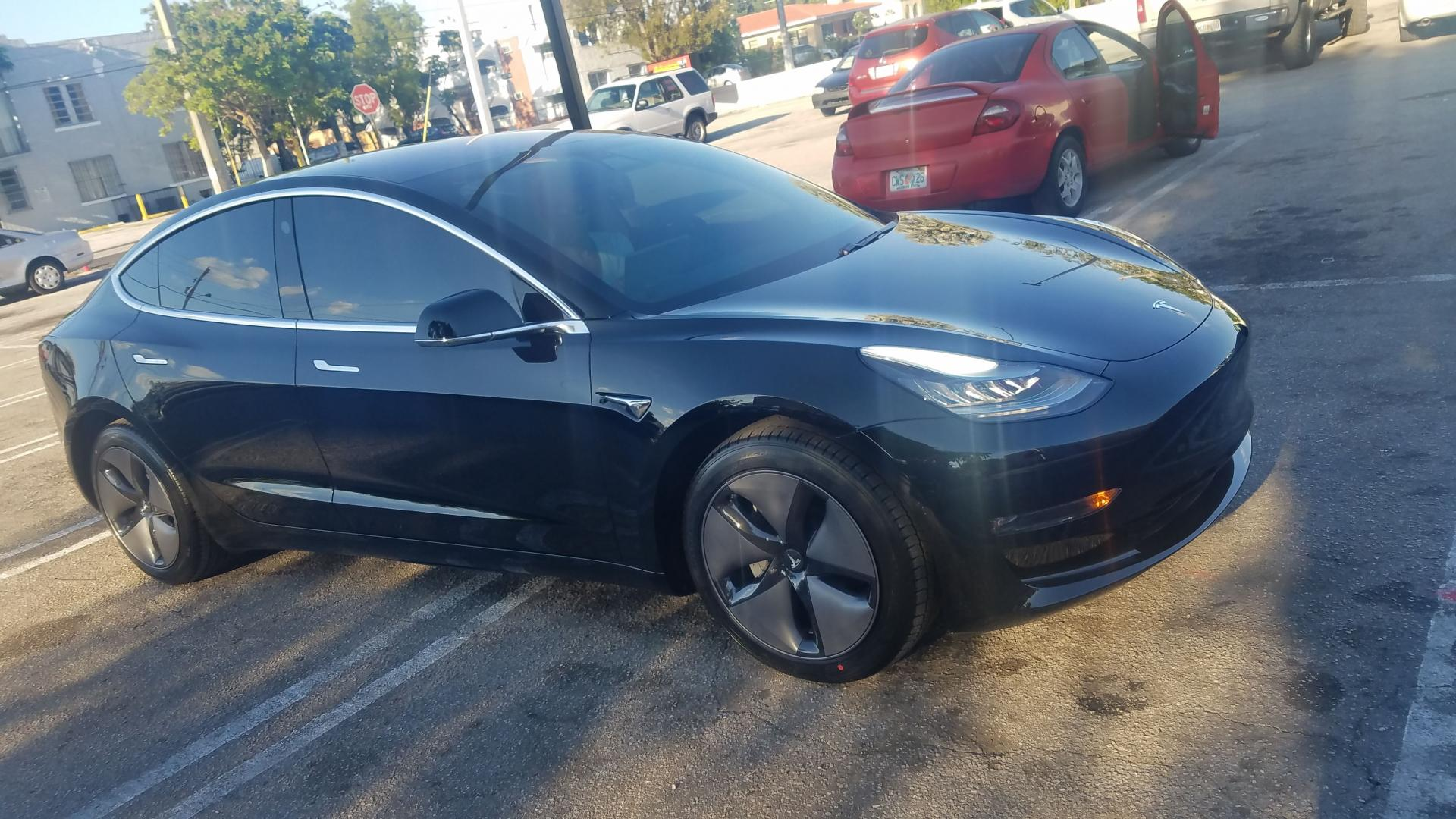 Tesla 3M window film